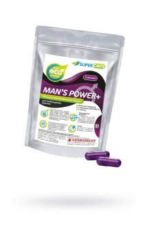 Средство возбуждающее Man's Power plus, 2 капсулы