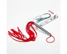 Плеть латексная красная, средняя.