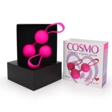 Набор вагинальных шариков D 34 мм, розовые