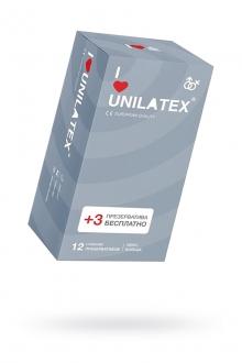 Презервативы UNILATEX RIBBED №12, ребристые