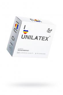 Презервативы UNILATEX MULTIFRUTIS №3, ароматизированные, цветные