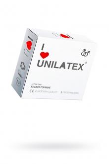 Презервативы UNILATEX NATURAL ULTRATHIN №3, ультратонкие