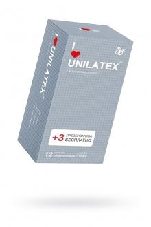 Презервативы UNILATEX DOTTED №12, с точками