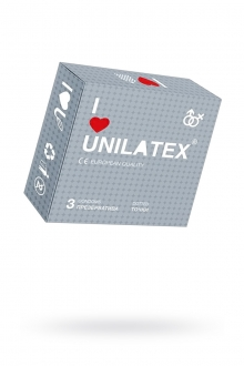 Презервативы UNILATEX DOTTED №3, с точками