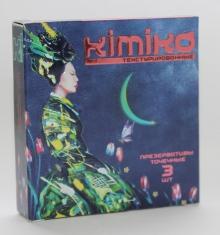 ПРЕЗЕРВАТИВЫ KIMIKO (текстурированные),3 шт.