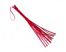 Плеть лакированная, красная. 40 см.