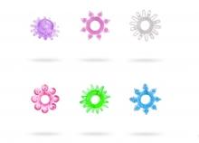 Эрекционное кольцо гелевое, цвета в ассортименте